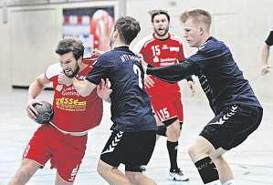 Die Handballer der HG Rosdorf-Grone FOTO: PFÖRTNER