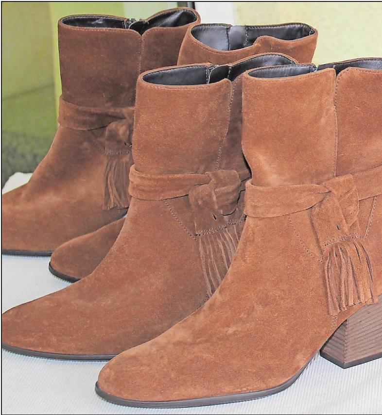 Ein Besuch beim verkaufsoffenen Sonntag in Mutterstadt lohnt sich, denn die Gewerbetreibenden, wie zum Beispiel das Schuhhaus Magin, haben Kerweangebote vorbereitet. FOTO: MÖBUS
