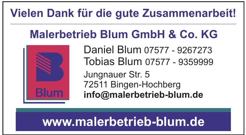 Malerbetrieb Blum GmbH & Co. KG
