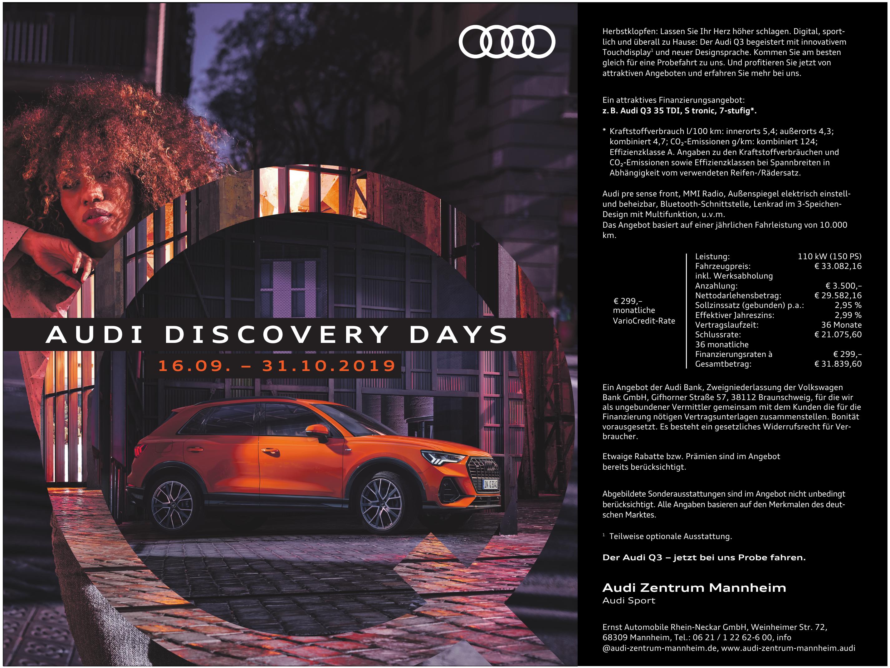 Audi Zentrum Mannheim - Ernst Automobile Rhein-Neckar GmbH