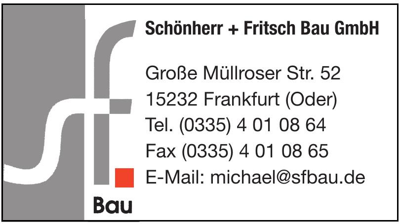 Schönherr + Fritsch Bau GmbH