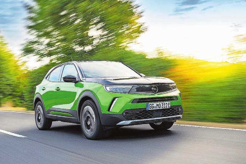 Der neue Opel Mokka kommt im April – und ist von Anfang an auch als Elektroversion mit 324 km Reichweite zu haben. Ab 36 200 Franken. Bilder: zVg