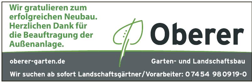 Oberer Garten- und Landschaftsbau