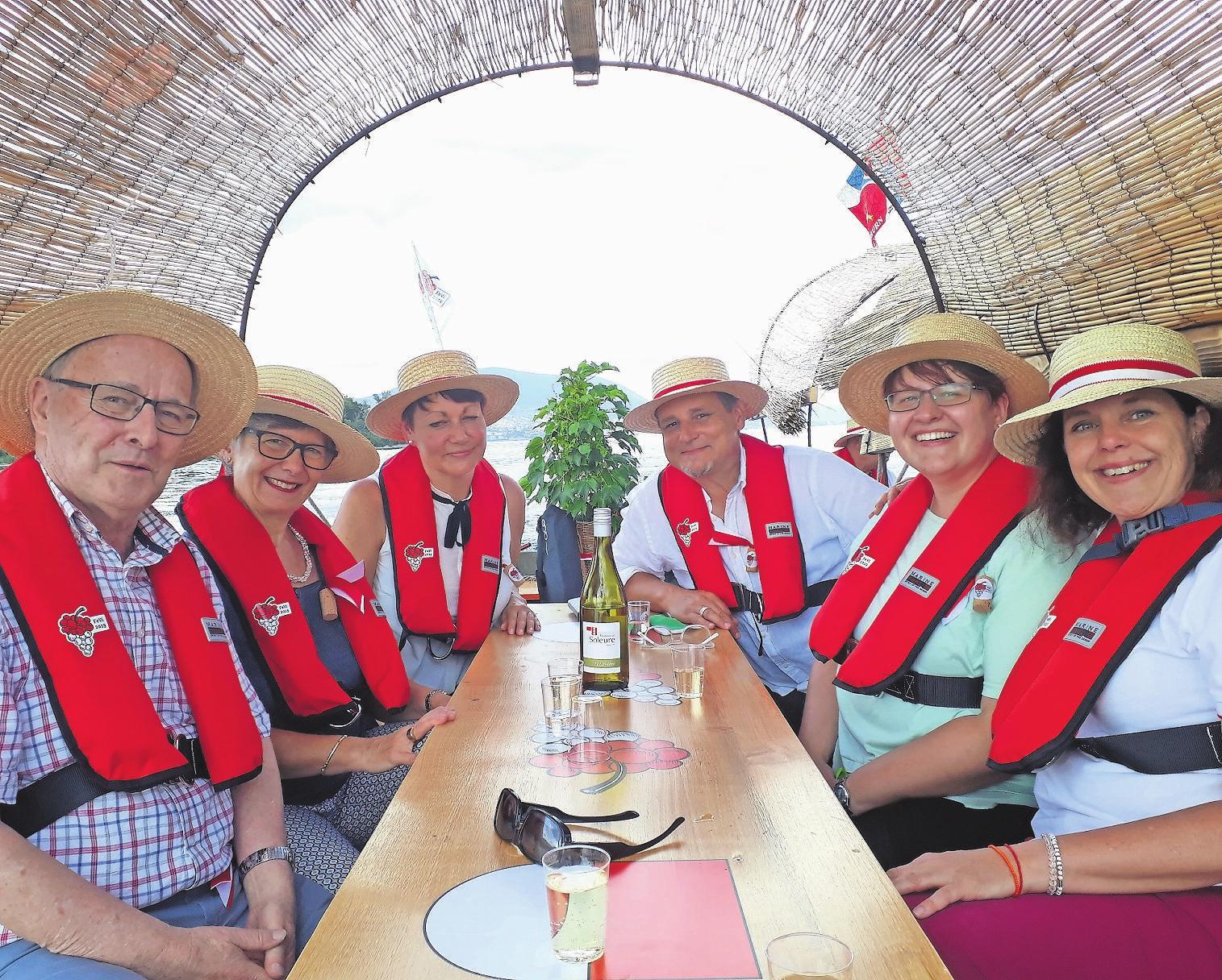 Solothurner lieben die Harmonie: Sinnbildlich die Fahrt an die Fête des Vignerons. Wer schafft es nach Bern? Bild: R. Karpf (Vevey, 2. August 2019)