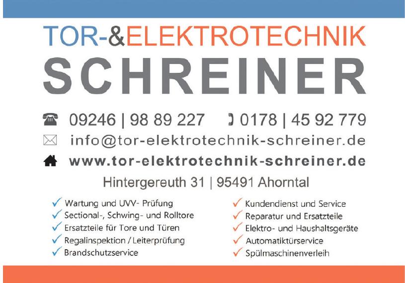 Tor-&Elektrotechnik Schreiner