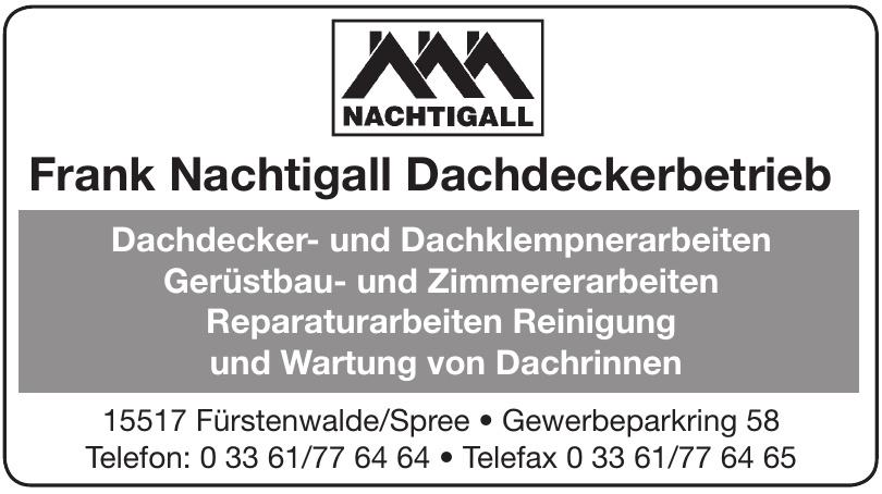 Frank Nachtigall Dachdeckerbetrieb
