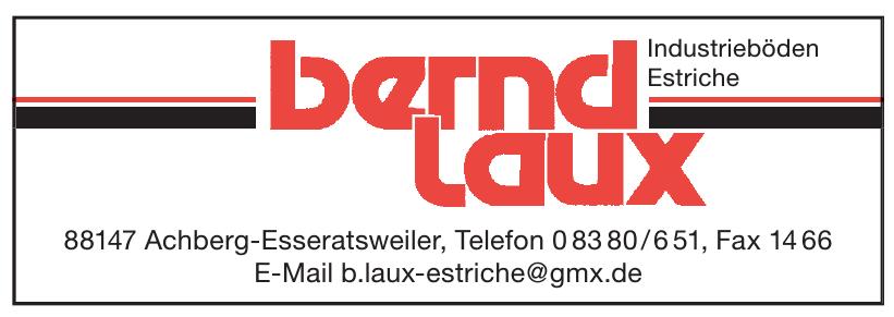 Bernd Laux