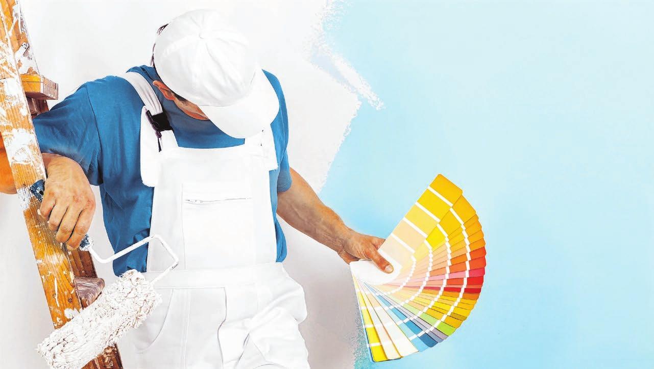 Beim Fachmann in guten Händen: Die Materialien, mit denen Profis arbeiten, sind mit denen für Heimwerker nicht zu vergleichen. Foto: ©alessandro guerriero/shutterstock.com