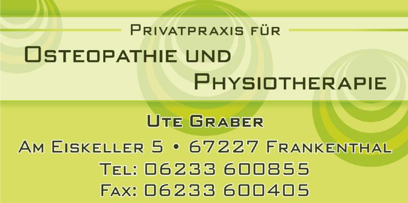 Privatpraxis für Osteopathie und Physiotherapie Ute Graber
