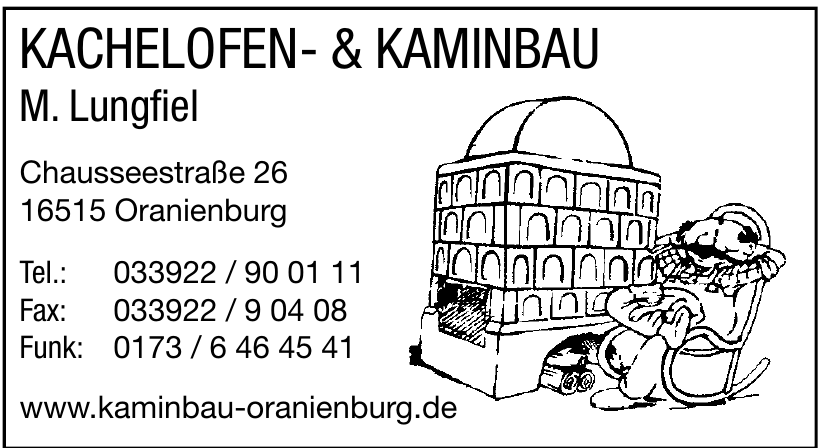 Kachelofen- & Kaminbau M. Lungfiel