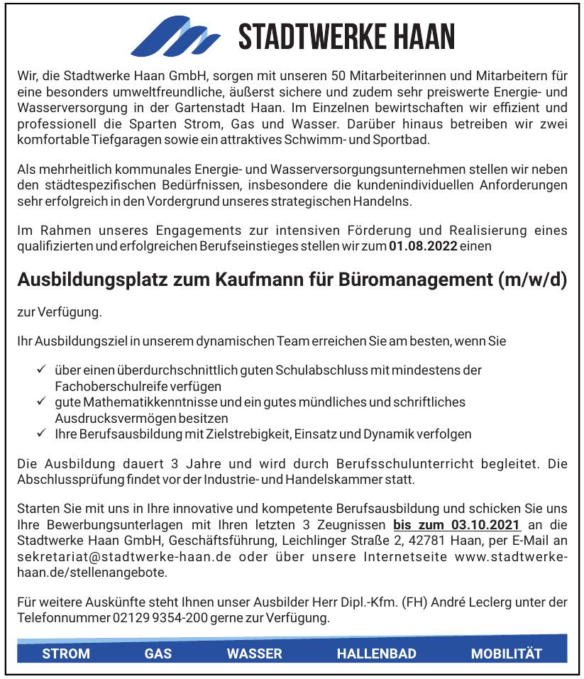 Stadtwerke Haan GmbH