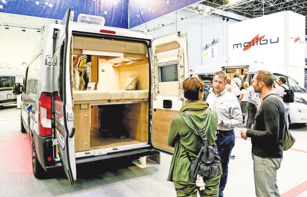 Fans von Wohnmobilen aller Art kommen beim Caravan Salon in Düsseldorf voll und ganz auf ihre Kosten. FOTOS: MESSE DÜSSELDORF / CONSTANZE TILLMANN