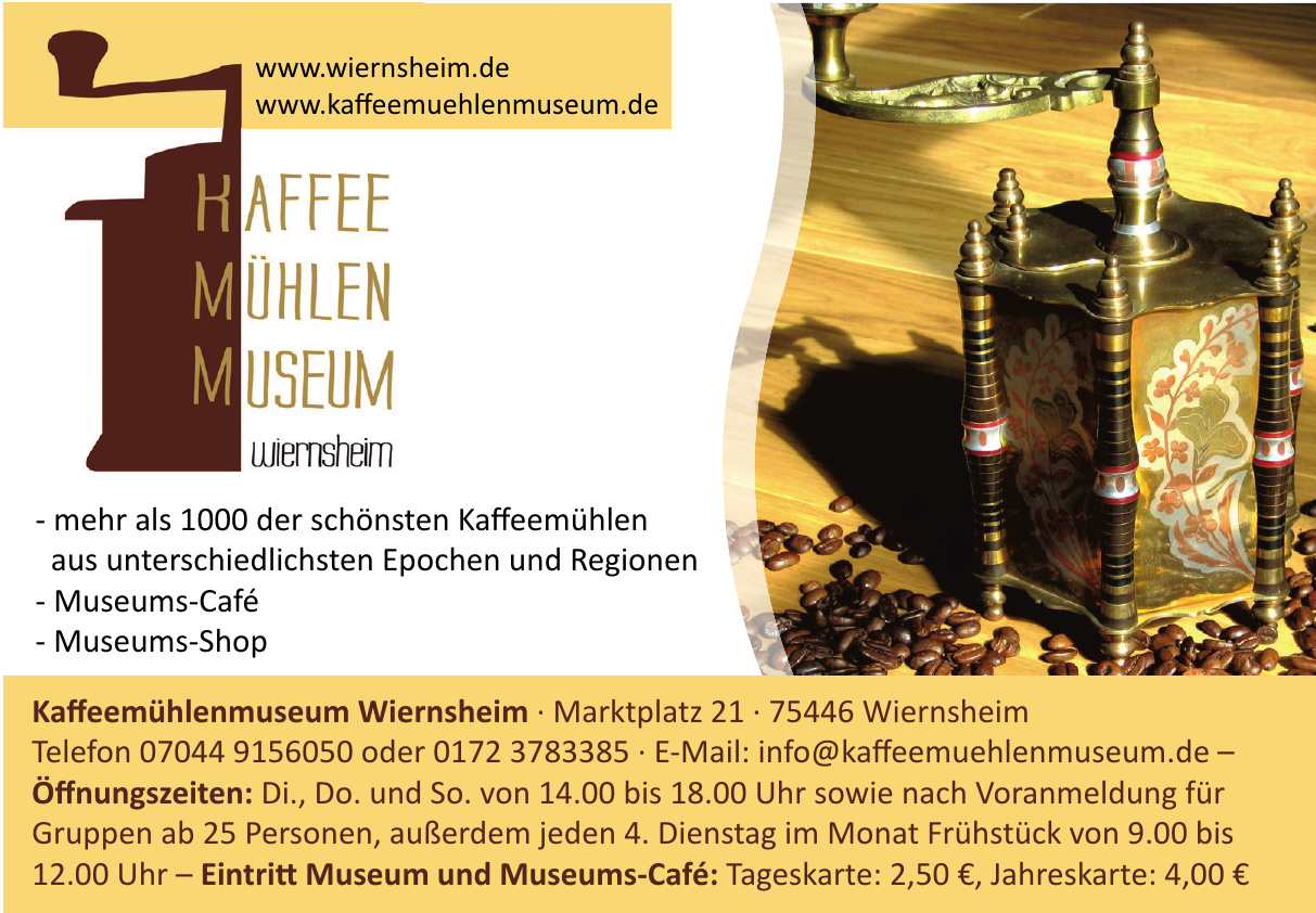 Kaffeemühlenmuseum Wiernsheim
