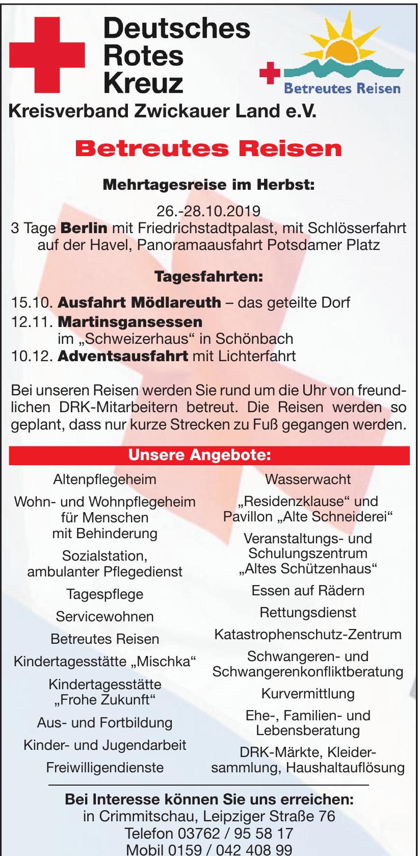 Deutsches Rotes Kreuz Kreisverband Zwickauer Land e.V.