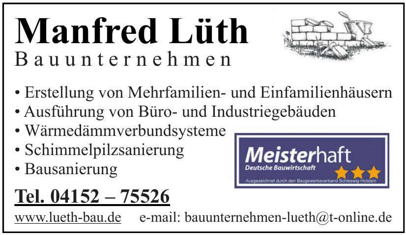 Manfred Lüth Bauunternehmen