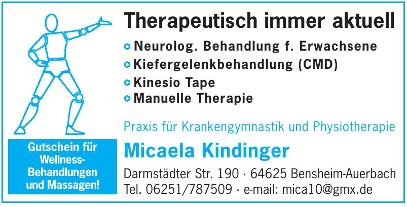 Praxis für Krankengymnastik und Physiotherapie Micaela Kindinger