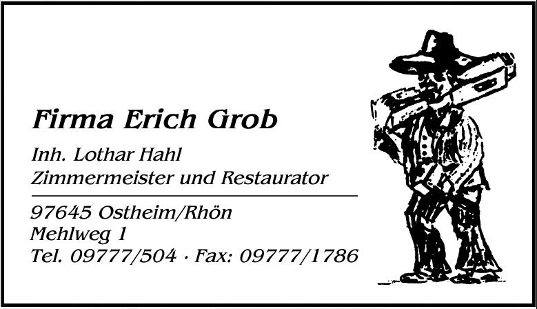 Firma Erich Grob