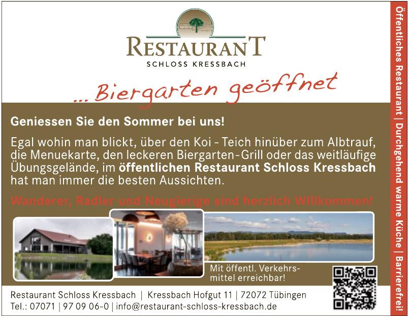 Restaurant Schloss Kressbach