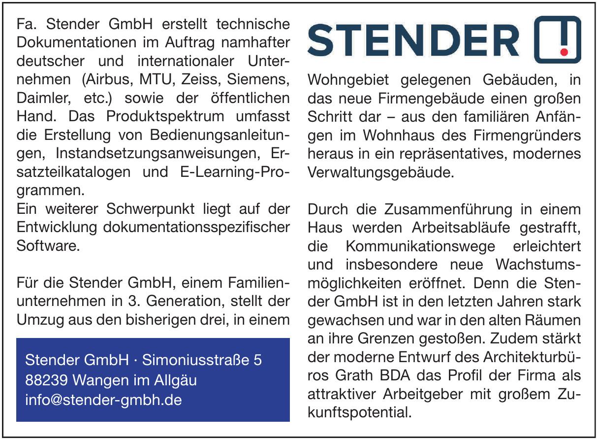 Stender GmbH
