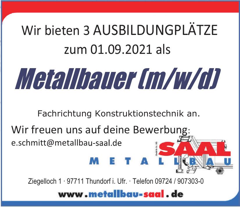 Metallbau Saal