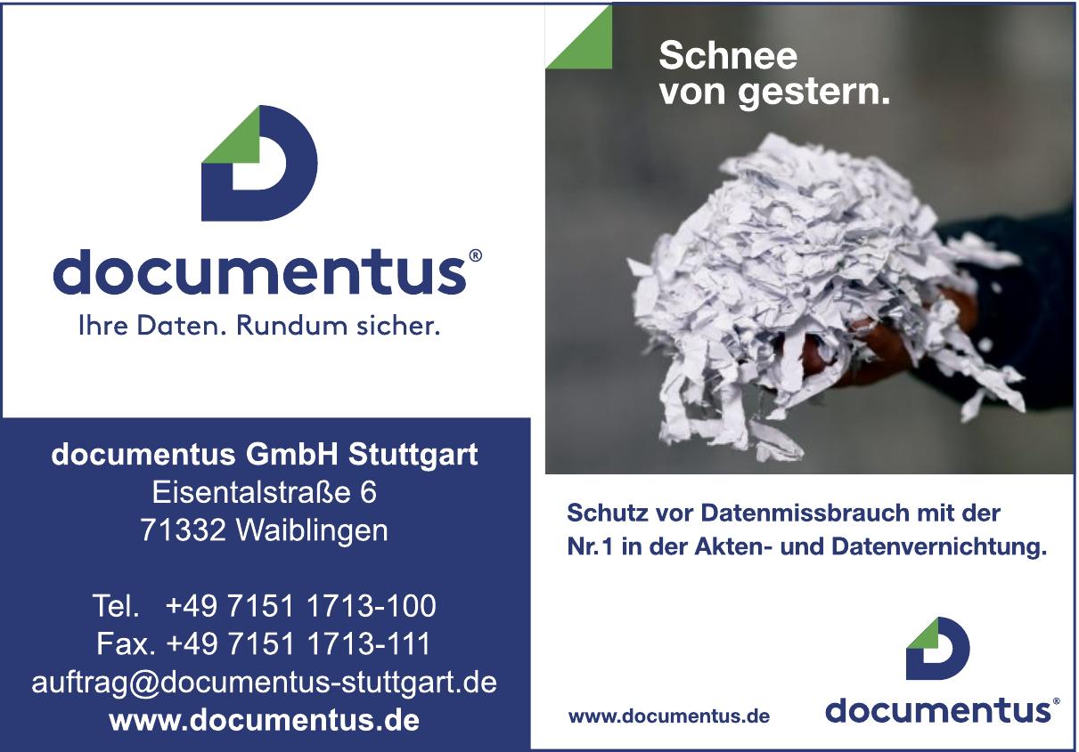 Documentus GmbH Stuttgart