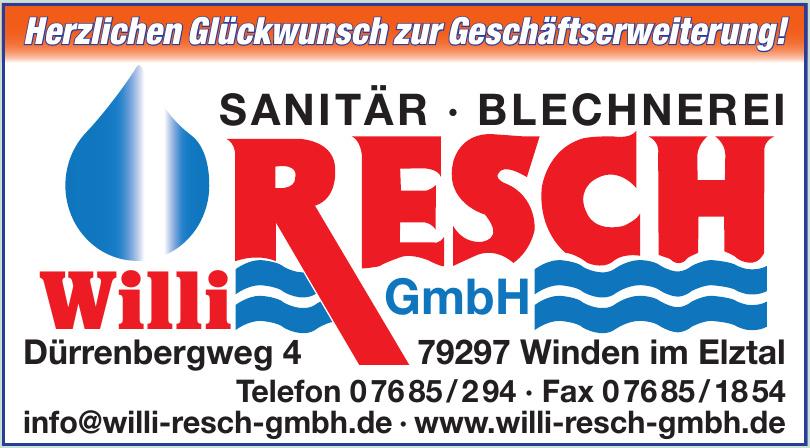 Willi Resch GmbH
