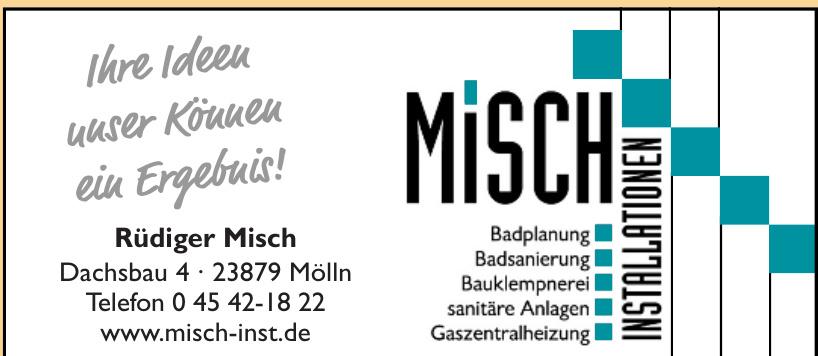 Rüdiger Misch