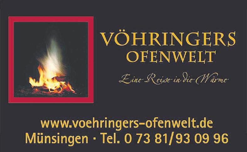 Vöhringers Ofenwelt