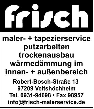 Frisch Malermeister