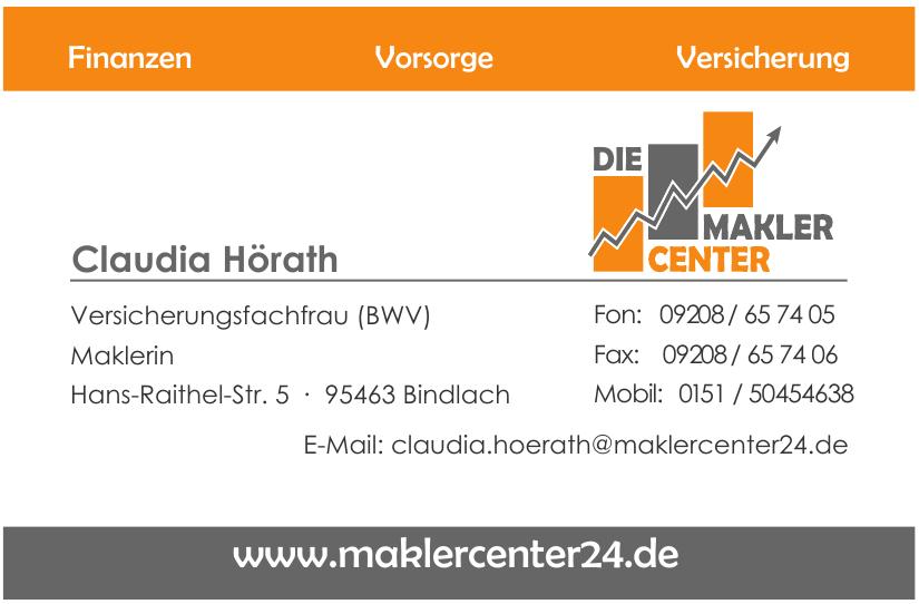 Die Makler Center - Claudia Hörath