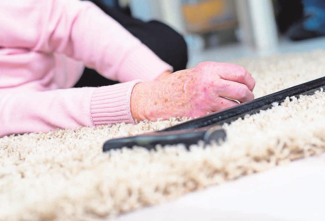 Besonders Senioren sind von Schlaganfällen betroffen. 80 Prozent der Patienten sind über 80 Jahre alt. FOTO: FOTOLIA