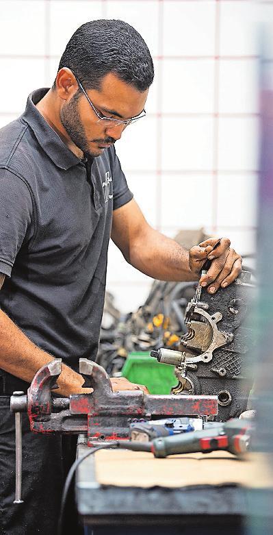 Kfz-Mechatroniker ist in der Südwestpfalz der begehrteste Berufe. FOTO: DPA