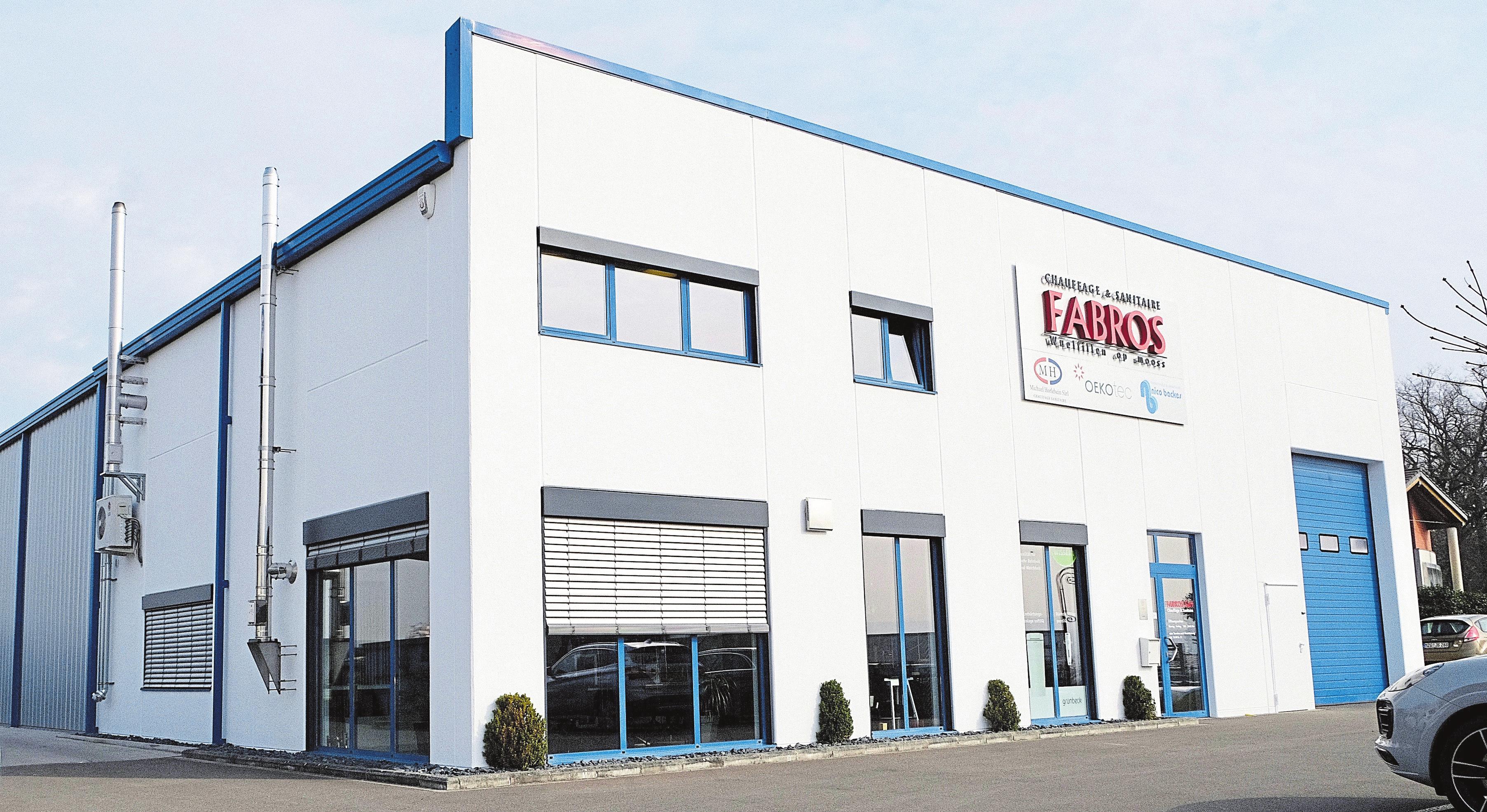 Der Firmensitz der Fabros Sàrl. befindet sich in der Industriezone op der Kopp in Remich. Foto: Lucien Wolf