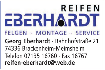 Reifen Eberhardt
