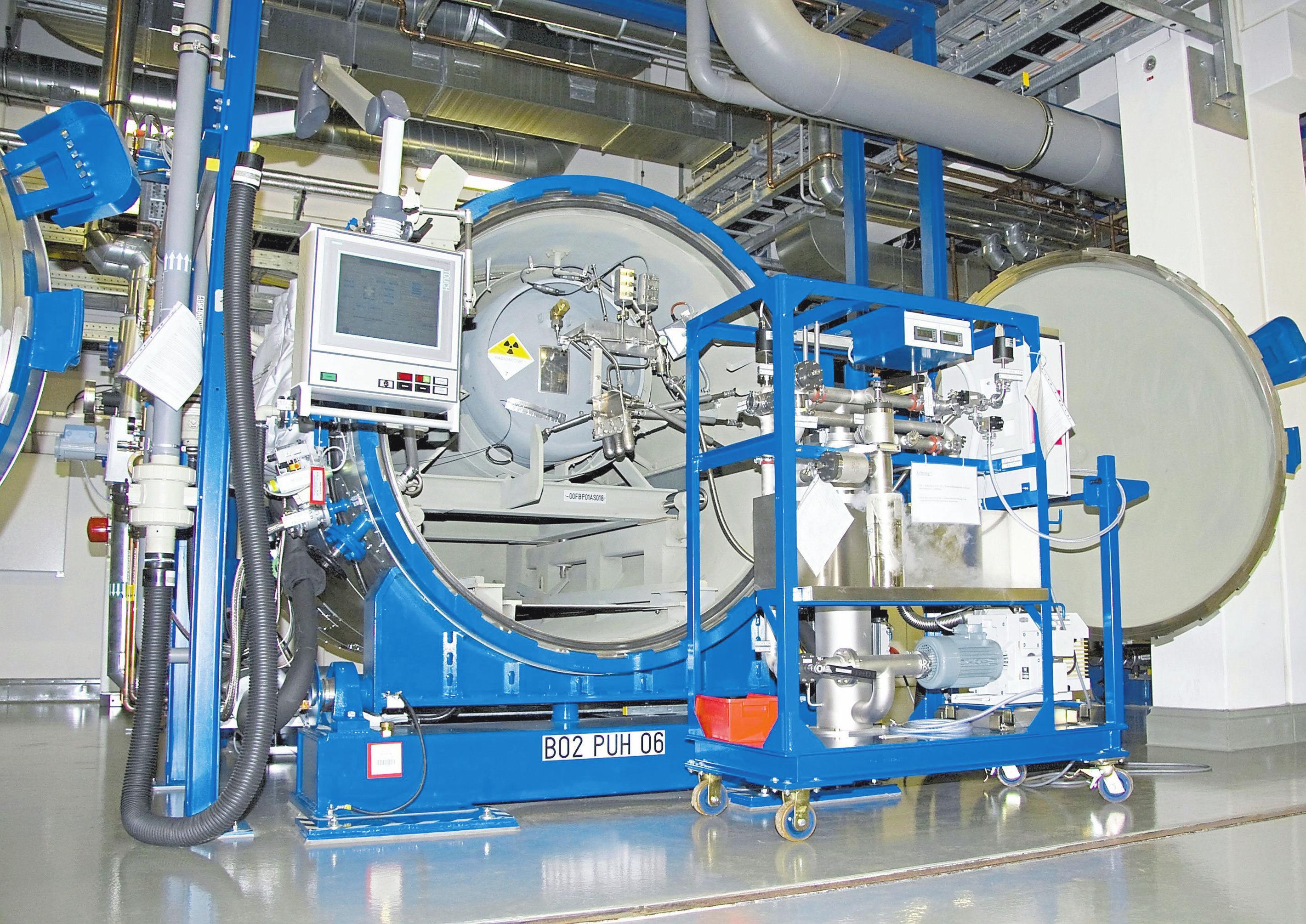 Mit Inbetriebnahme der UTA-2 wurde die Kapazität der Gesamtanlage in Gronau mehr als verdoppelt. Fotos: Urenco