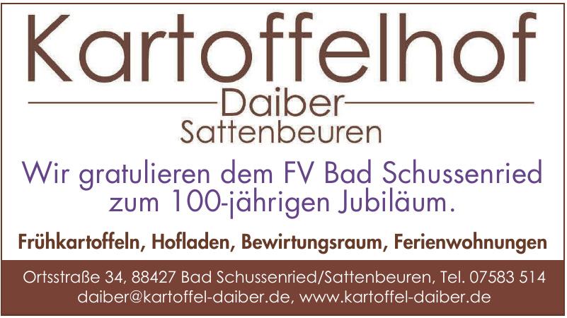Kartoffelhof Daiber Sattenbeuren