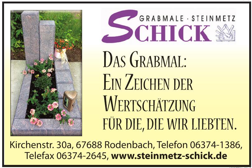 Schick Grabmale und Steinmetz GmbH