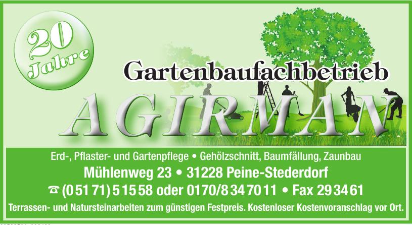 Garten- und Landschaftsbau Agirman