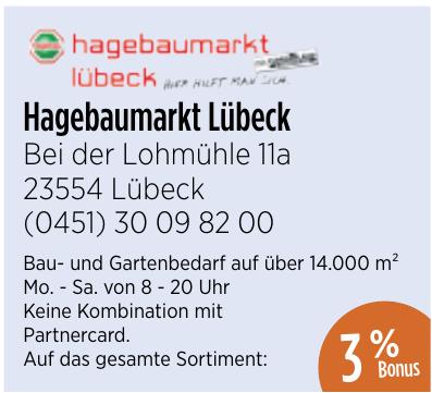 Hagebaumarkt Lübeck