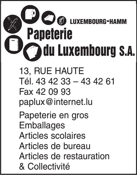 Papeterie du Luxembourg S.A.