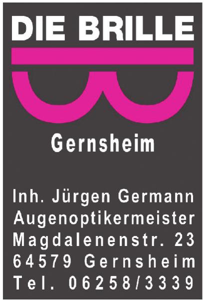 Die Brille Gernsheim