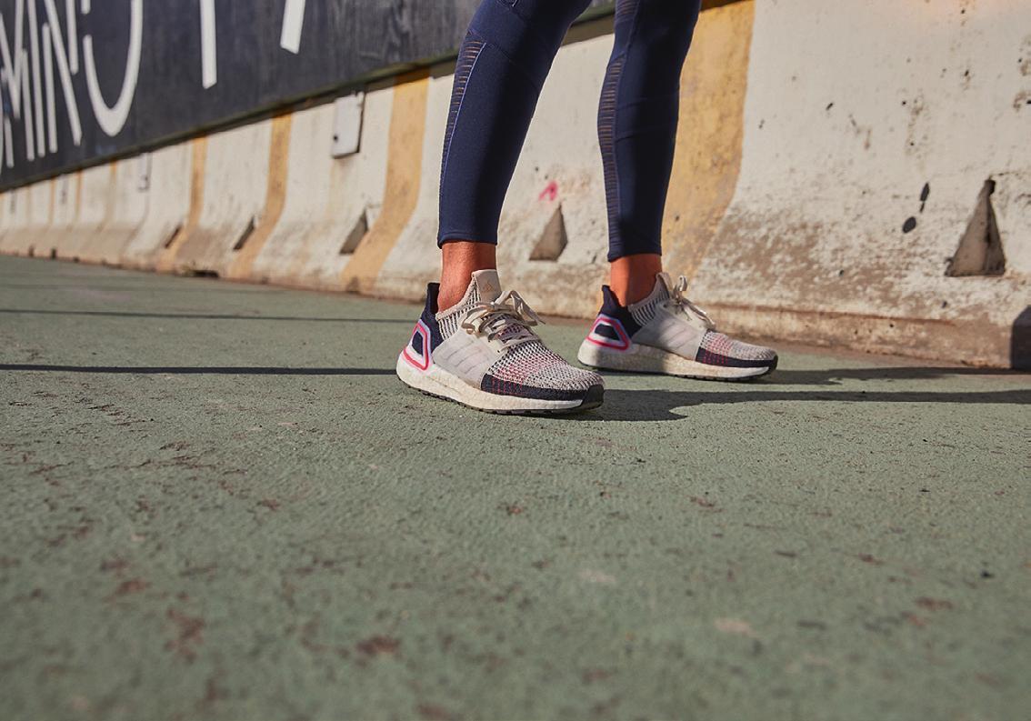 adidas nennt es Transformation: der Laufschuh Ultraboost 19 ist inspiriert vom Trend, gemeinsam etwas Neues zu schaffen