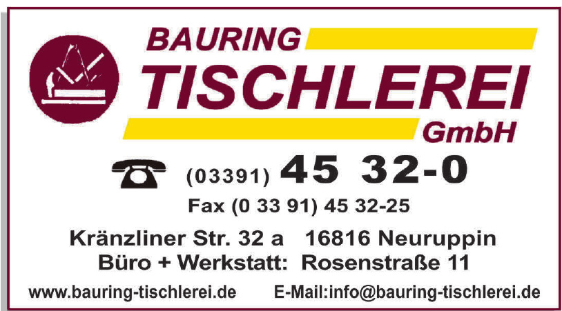 Bauring Tischlerei GmbH