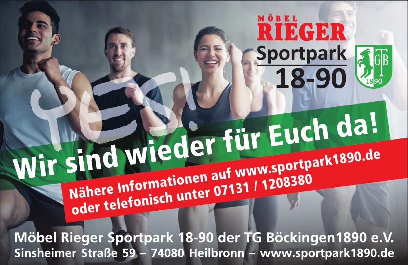 Möbel Rieger Sportpark 18-90 der TG Böckingen 1890 e.V.