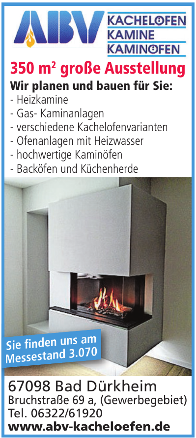 ABV Kachelofen - Kamine - Kaminofen