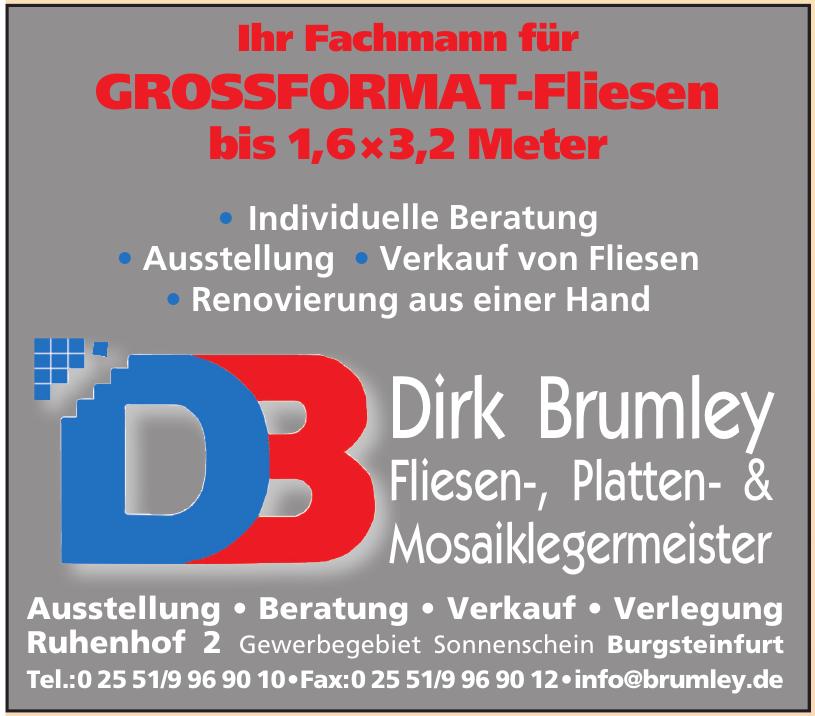Dirk Brumley Fliesen-, Platten- & Mosaiklegermeister