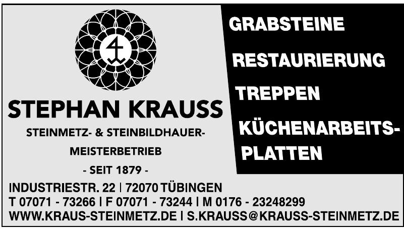 Stephan Krauss Steinmetz- & Steinbildhauermeisterbetrieb