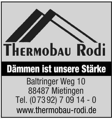 Thermobau Rodi