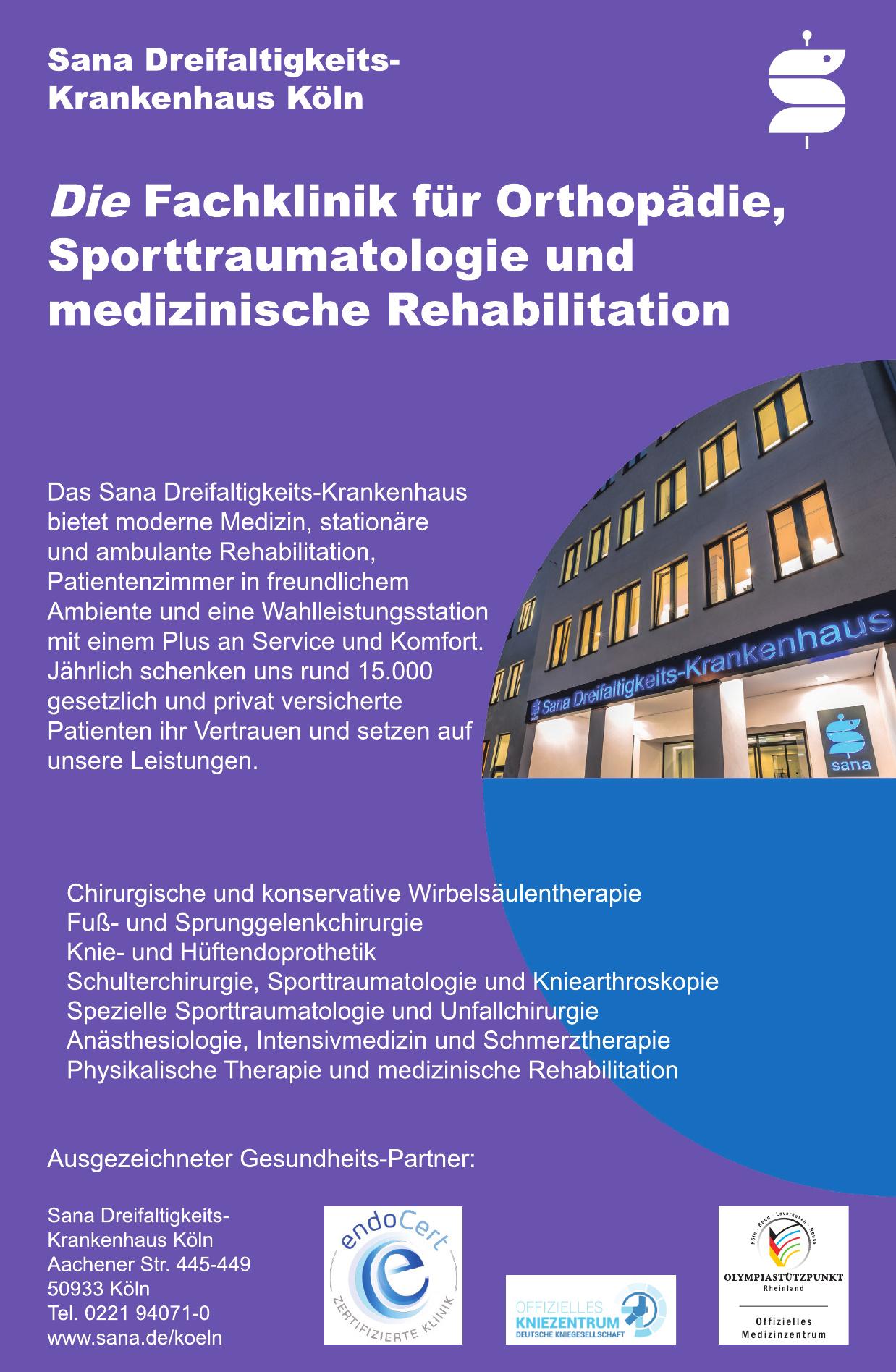 Sana Dreifaltigkeits-Krankenhaus Köln