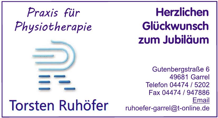 Praxis für Physiothereapie Torsten Ruhöfer